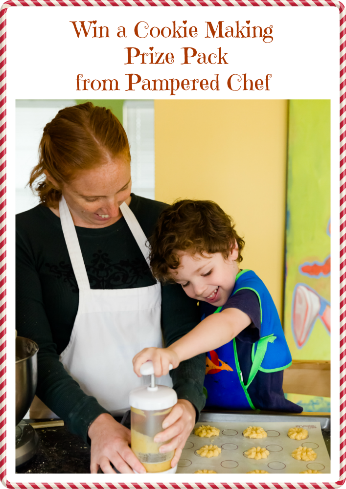 Win a Pampered Chef Cookie Making Prize Pack