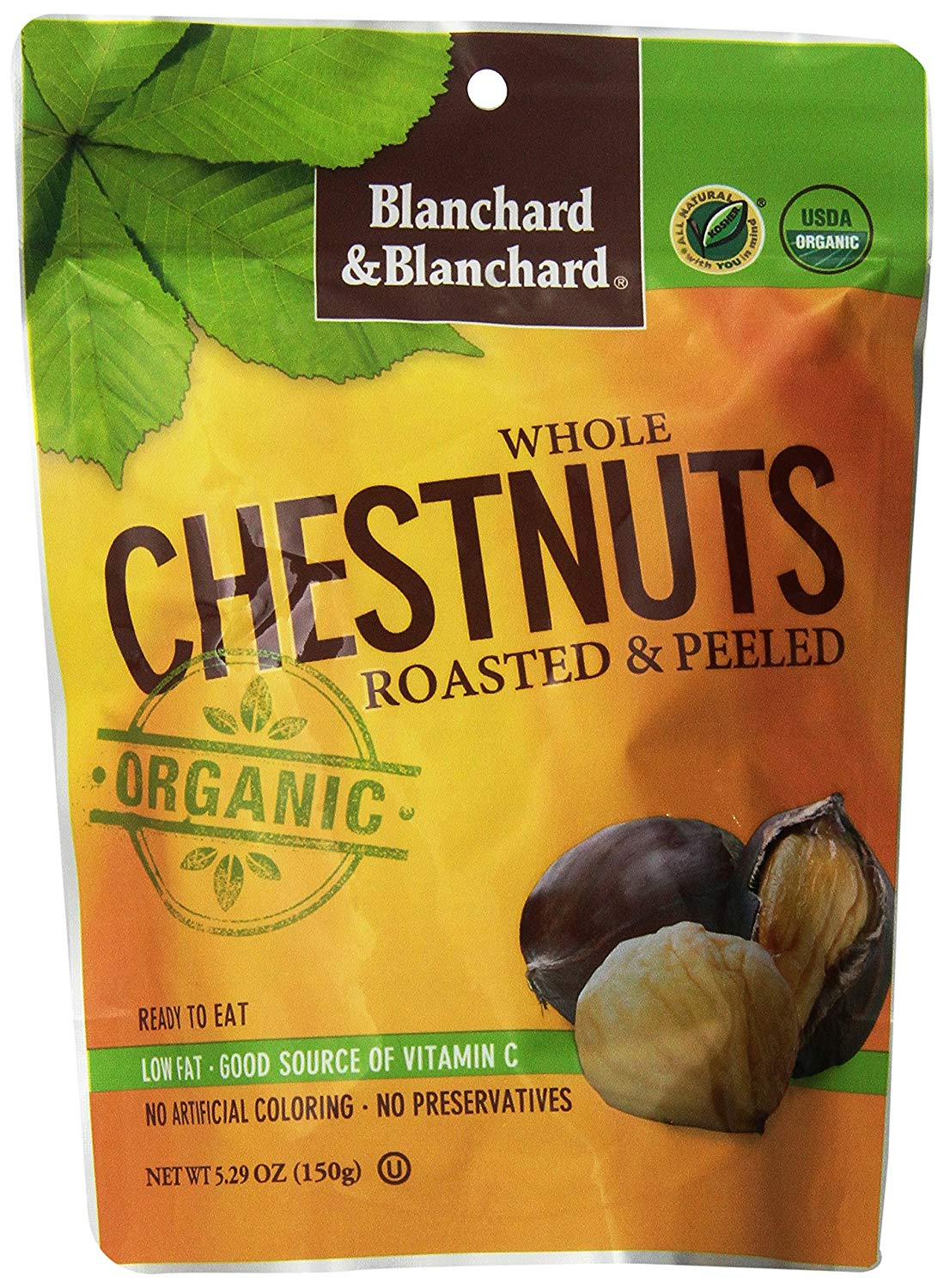 bag of roasted chestnuts