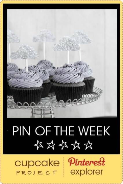 Black Sesame Cupcakes with Lemon Curd from Sprinkle Bakes – Pin of the Week