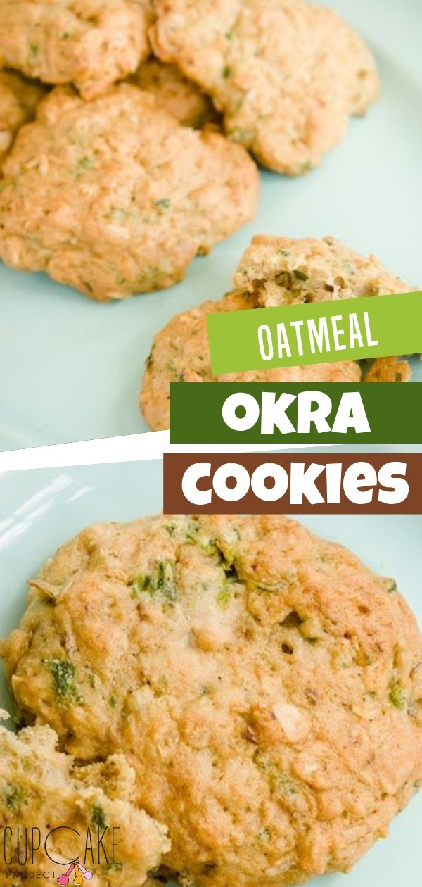 These oatmeal okra cookies are soft and airy, hearty from the bits of okra and oatmeal, sweet in a breakfasty way and vibrantly flavored from the addition of licorice-like fennel and a touch of ginger. Perfect for a dessert or a snack!