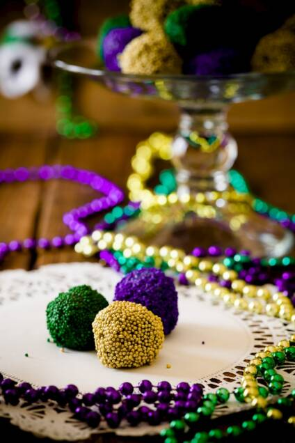 Hurricane Rum Balls Are a Must at Your Mardi Gras Party