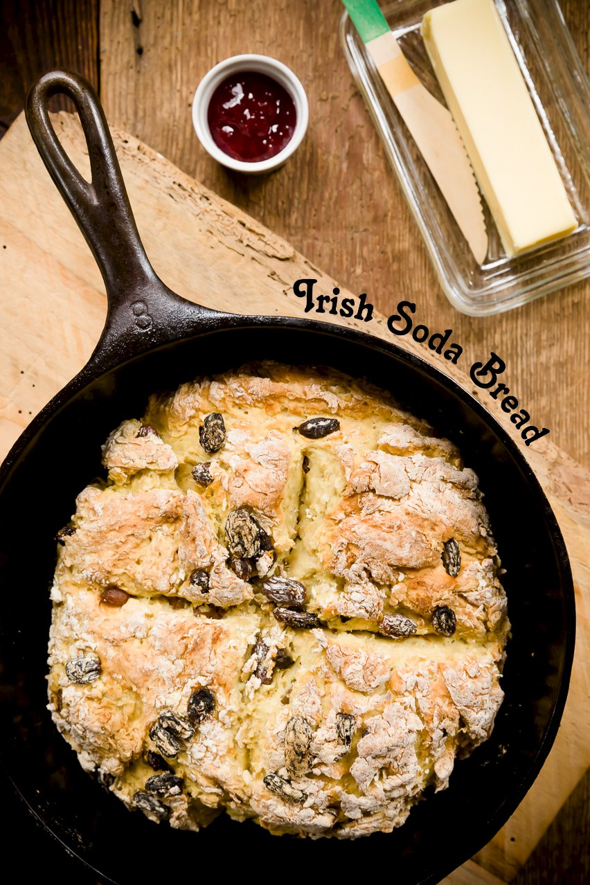 You'll be Shocked by the Surprise Ingredient in this Irish Soda Bread
