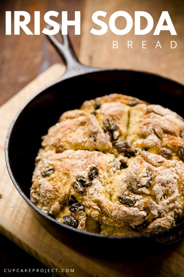 If are are looking for breads without butter or oil, this Irish Soda Bread is for you! It is healthy, rustic and sweet with no added sugar! Perfect for breakfast!