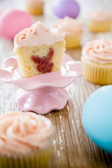 Bunny Inside Cupcakes