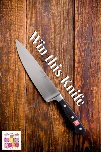 Win a WÜSTHOF CLASSIC 8-inch Cook's Knife
