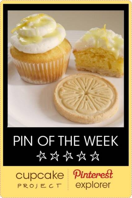 Lemonades Girl Scout Cookie Cupcakes from Chica and Jo – Pin of the Week