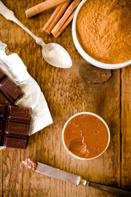 Decadent Dark Chocolate Cinnamon Butter