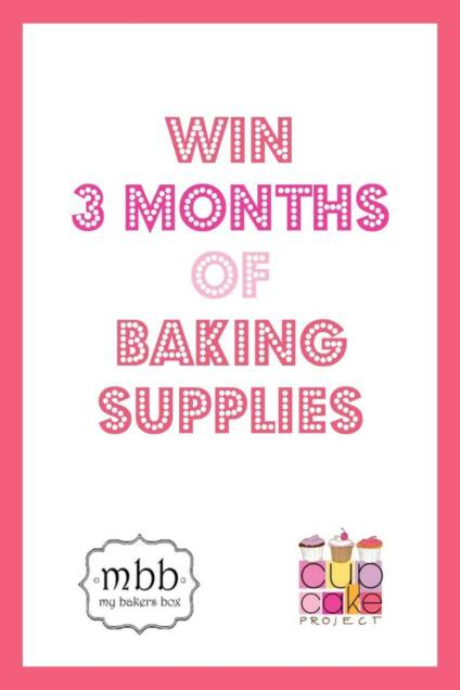Win Three Months of Baking Supplies From My Bakers Box