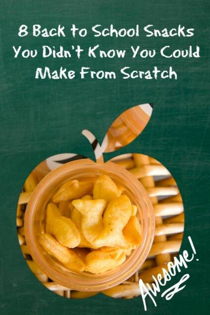 8 Back to School Snacks You Didn't Know You Could Make From Scratch