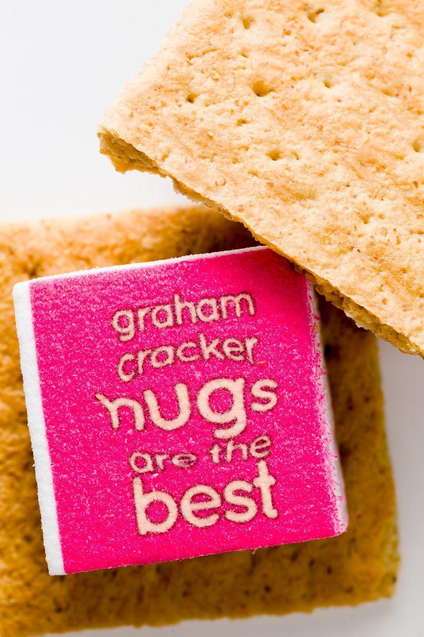 Graham Cracker Hugs are the Best