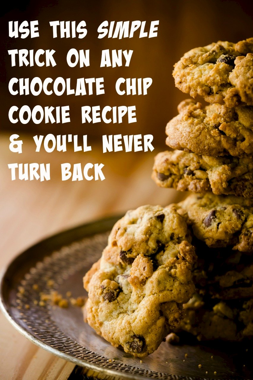 The Secret Chocolate Chip Cookie Baking Tip You'll Want to Try Today