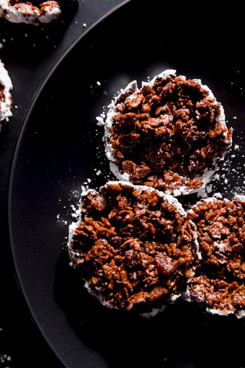 No-Bake Chocolate Cookies