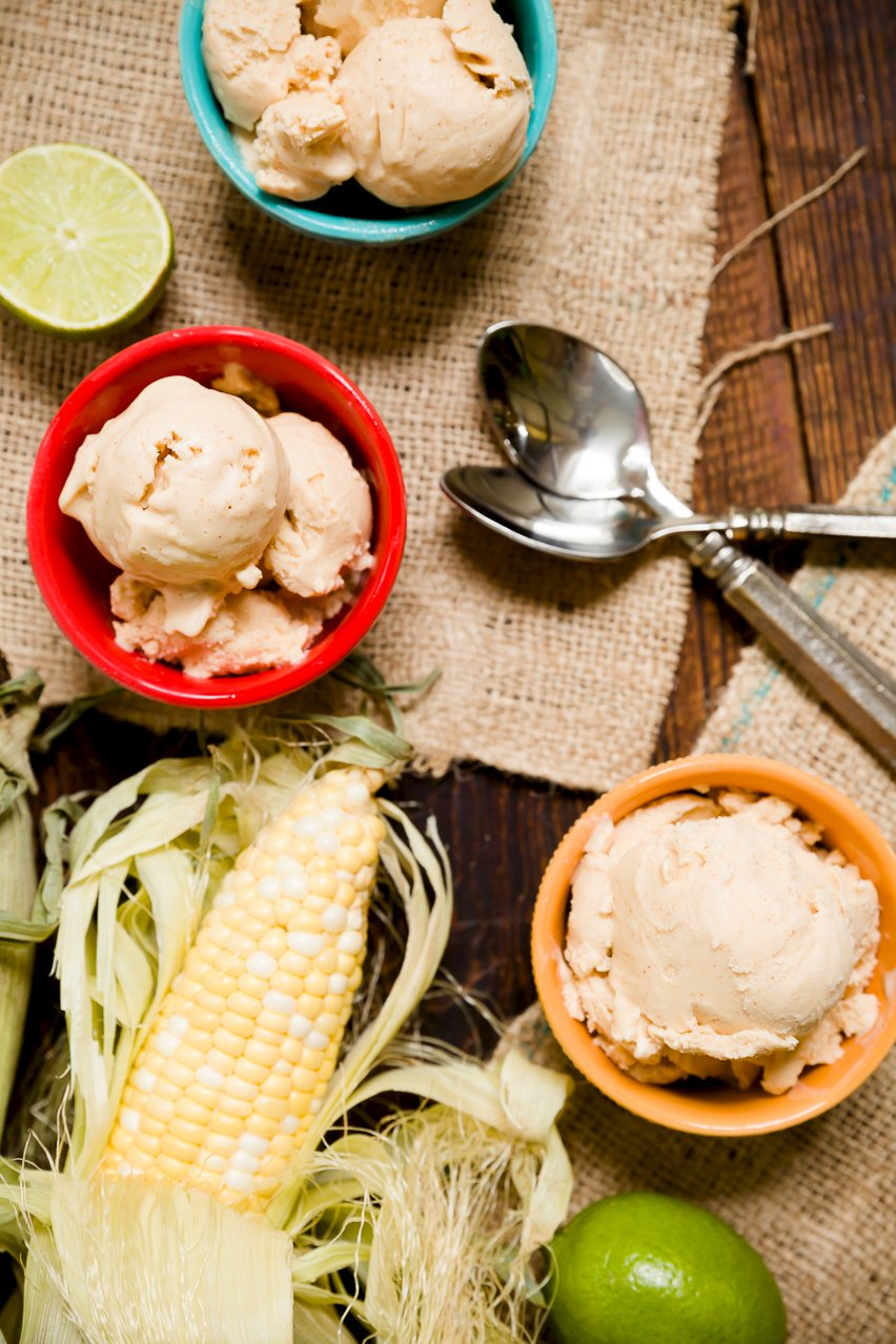Corn Ice Cream