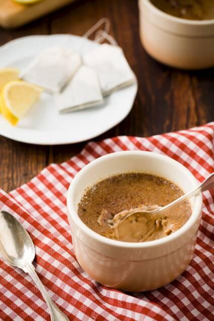 Sweet Tea Crème Brûlée