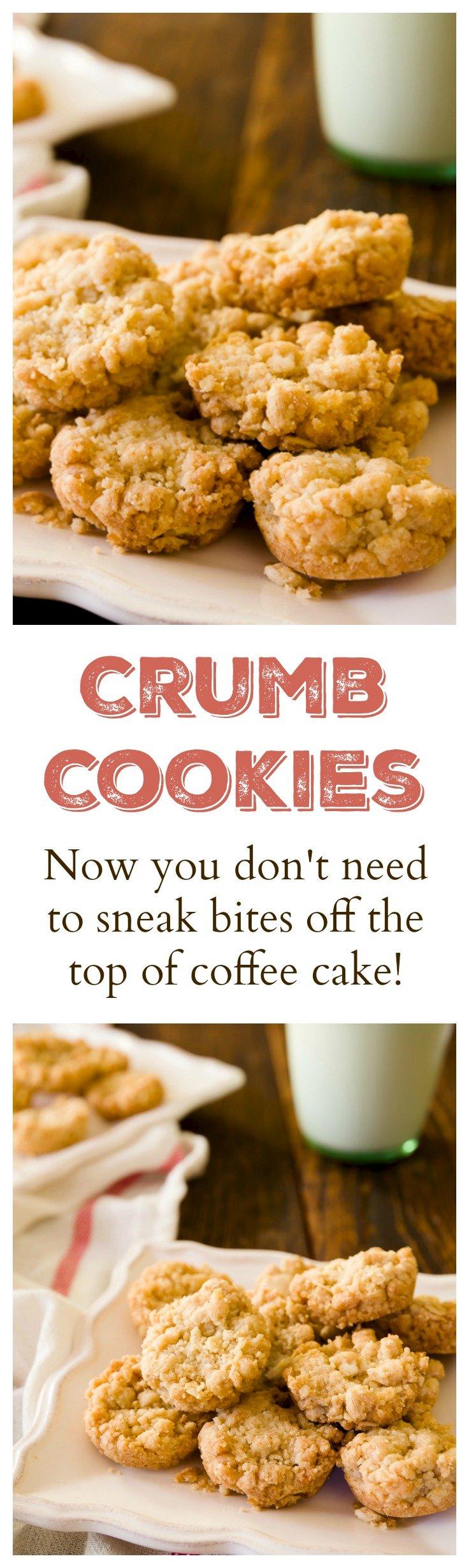 Four-Ingredient Crumb Cookies