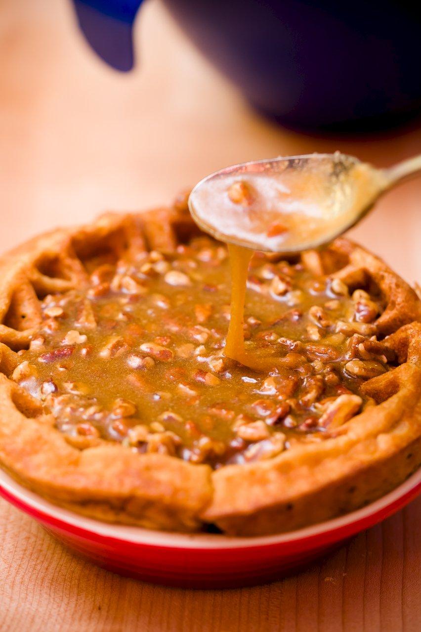 Waffle Pie Crust