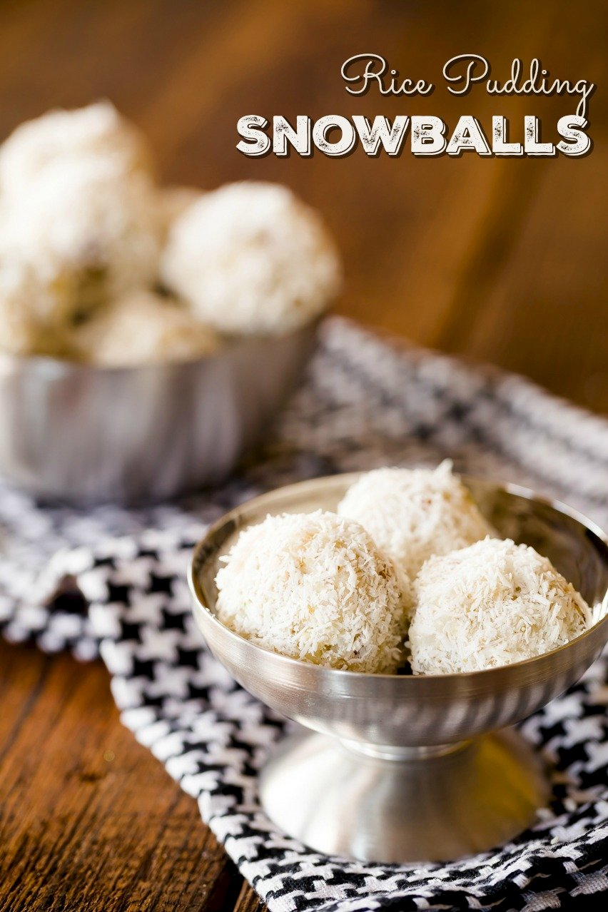 Rice Pudding Snowballs