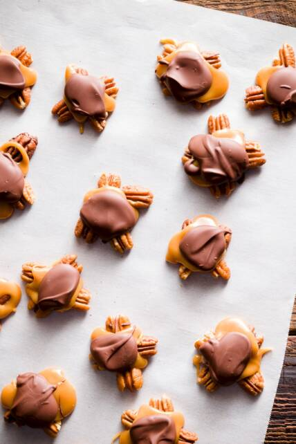 Homemade Turtle Candy