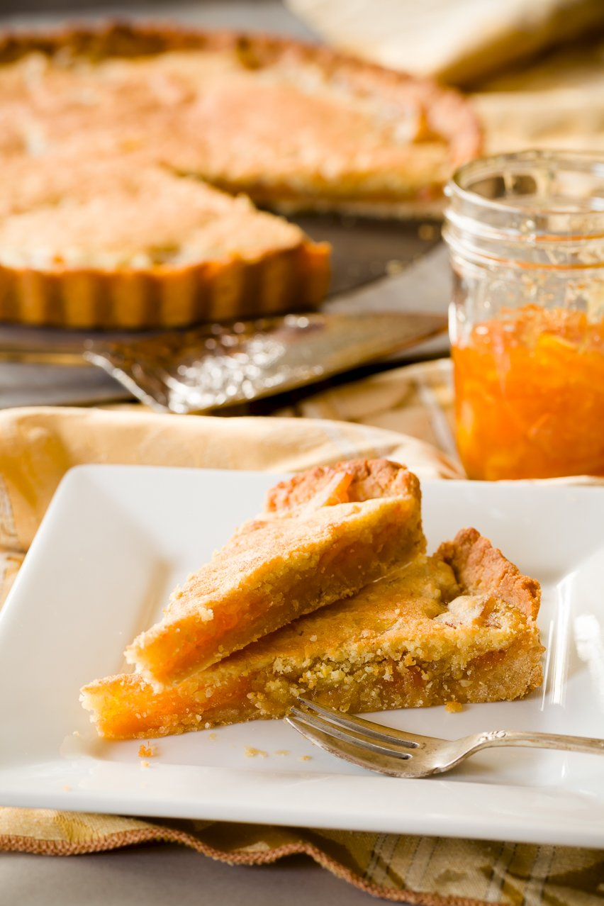 Jam Tart - Orange Tart with Salted Honey Crust