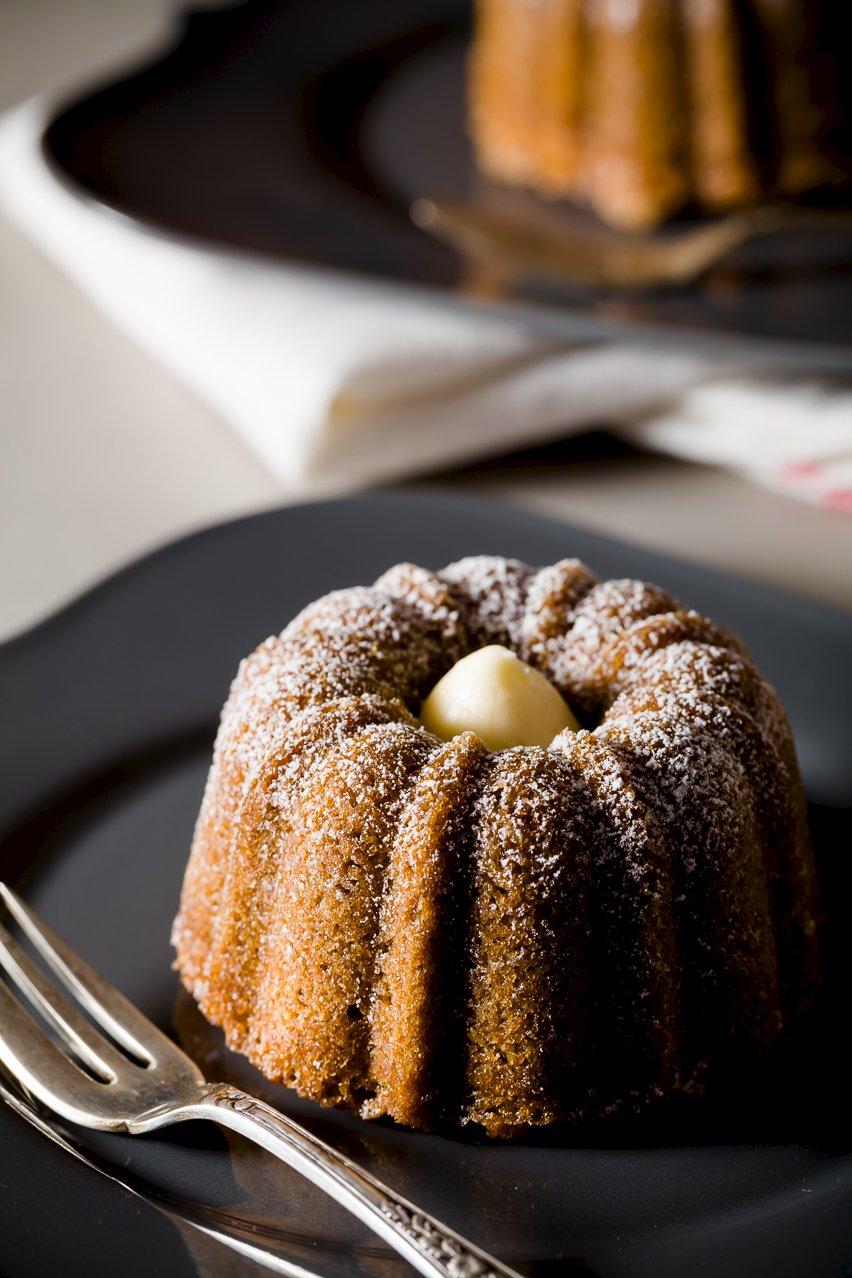 Cafe au Lait Mini Bundt Cakes