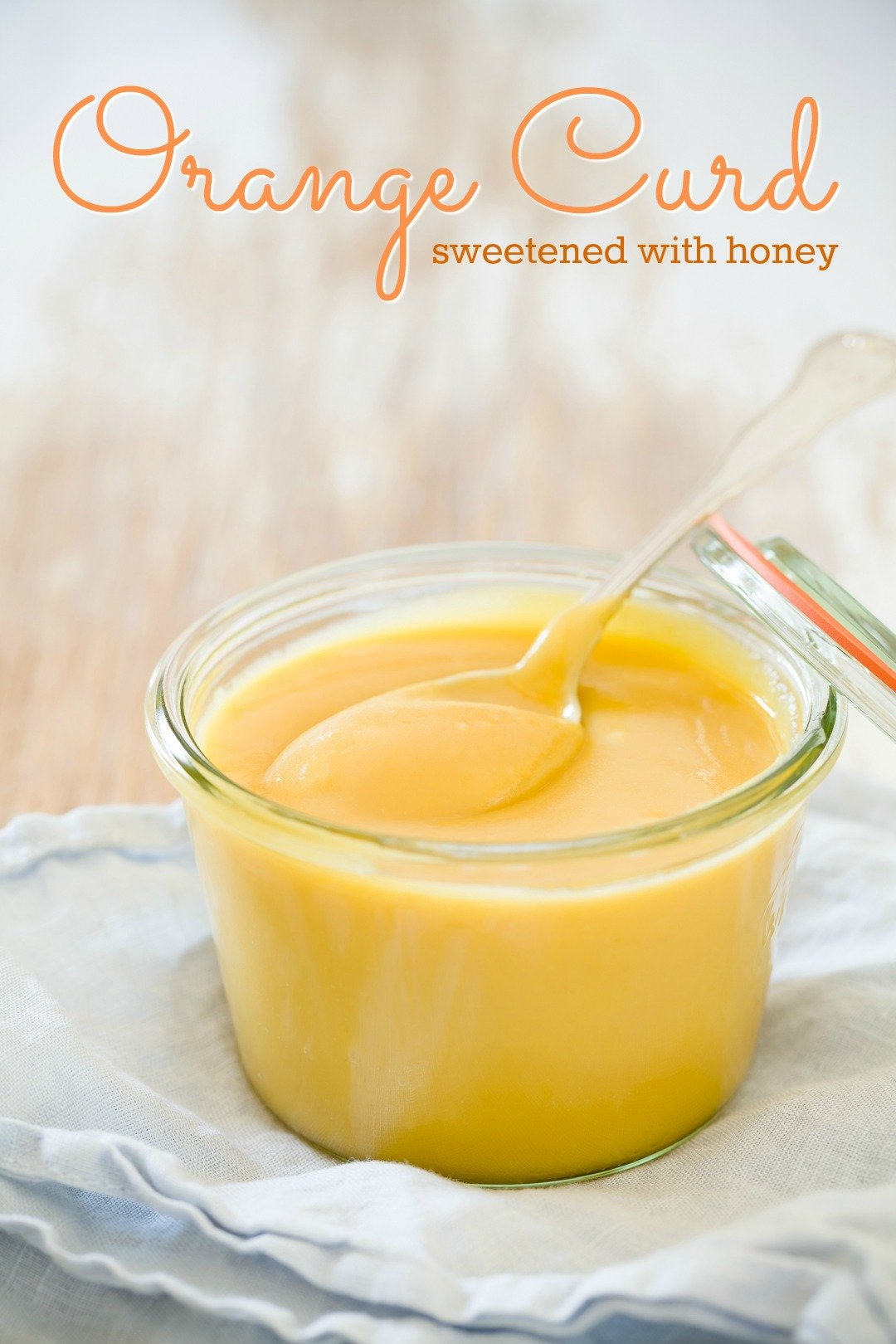 Honey Sweetened Orange Curd