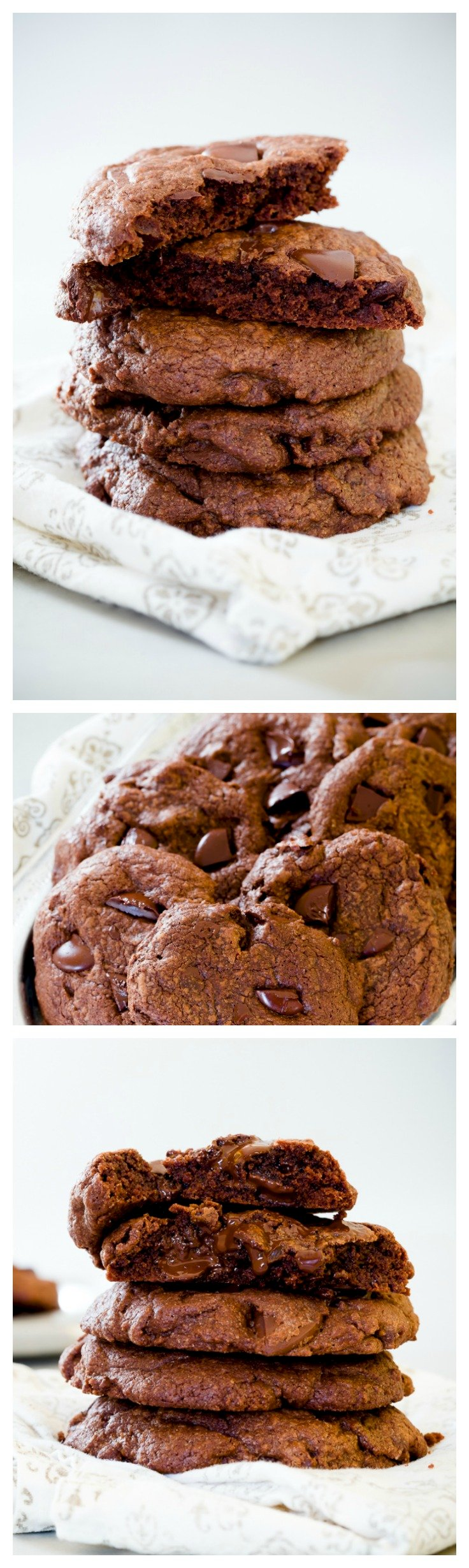 Amazing Double Chocolate Chip Cookies