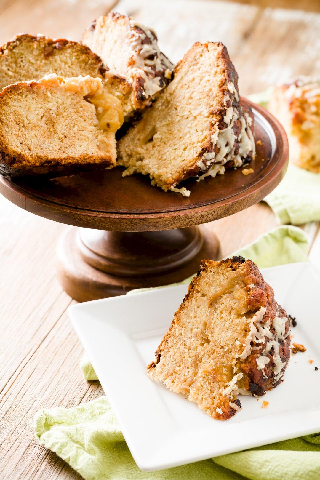 Caramel Apple and Cheddar Soda Bread