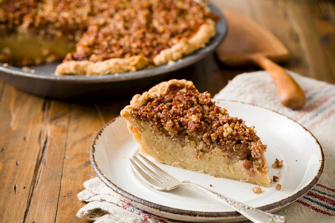 Maple Bacon Potato Pie