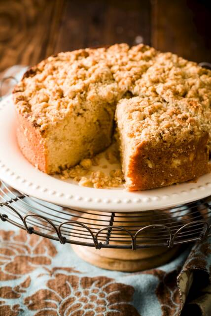 Classic Crumb Coffee Cake Recipe