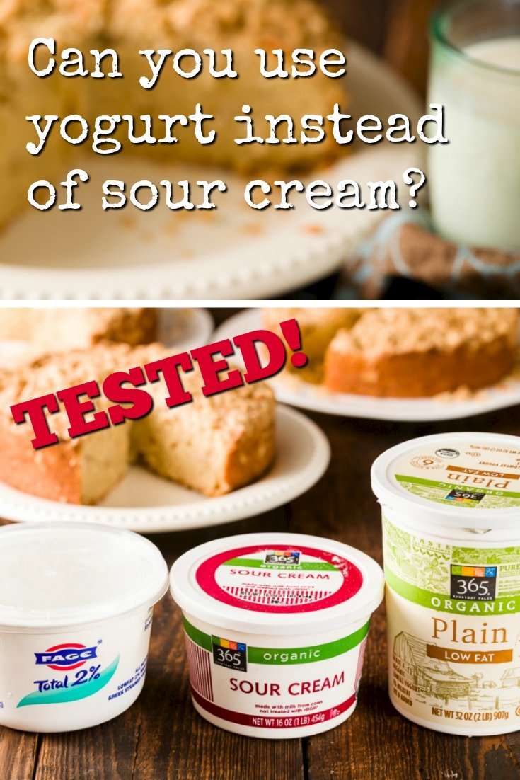 substituting yogurt for sour cream