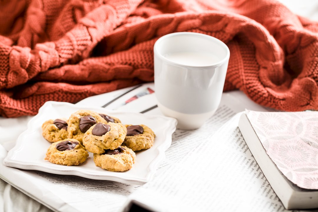 Pumpkin Thumbprint Cookies