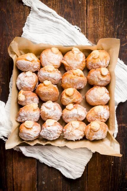 Gooey Butter Potato Donuts