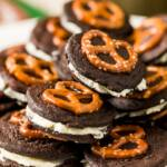 Pretzel and Beer Oreo Cookies