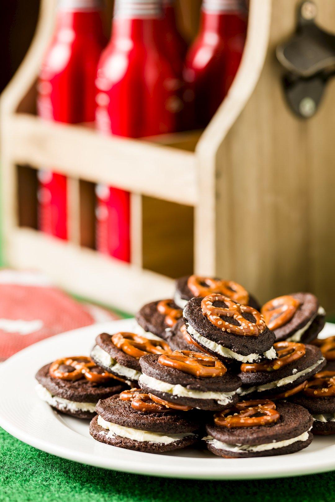 Pretzel and Beer Oreo Cookies