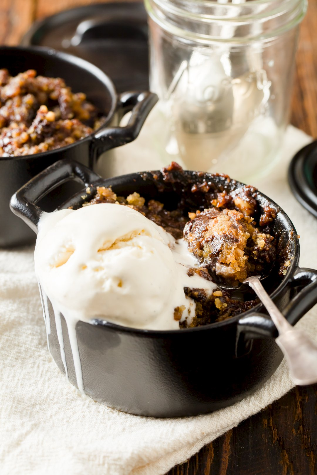 Slow Cooker Chocolate Peanut Butter Pudding Cake