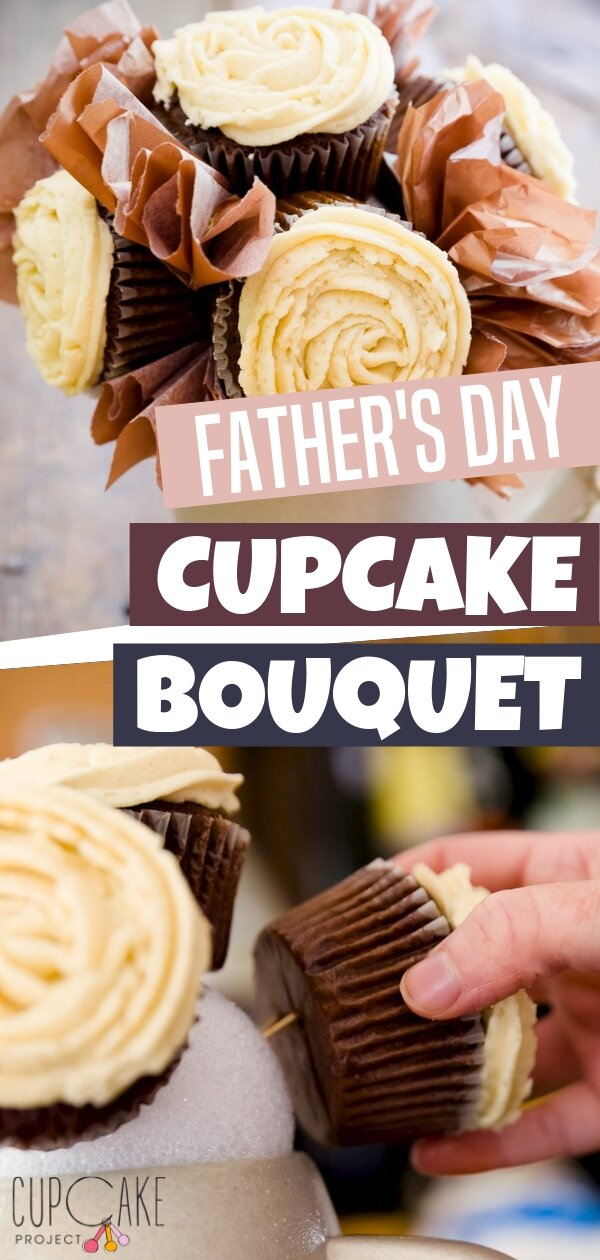 We have the best answer on how to make a cupcake bouquet perfect for Father\'s Day! A cupcake bouquet made with beer cupcakes served in a beer mug will surely give your dad a thrill! This idea is amazingly crazy but perfect to all dads!