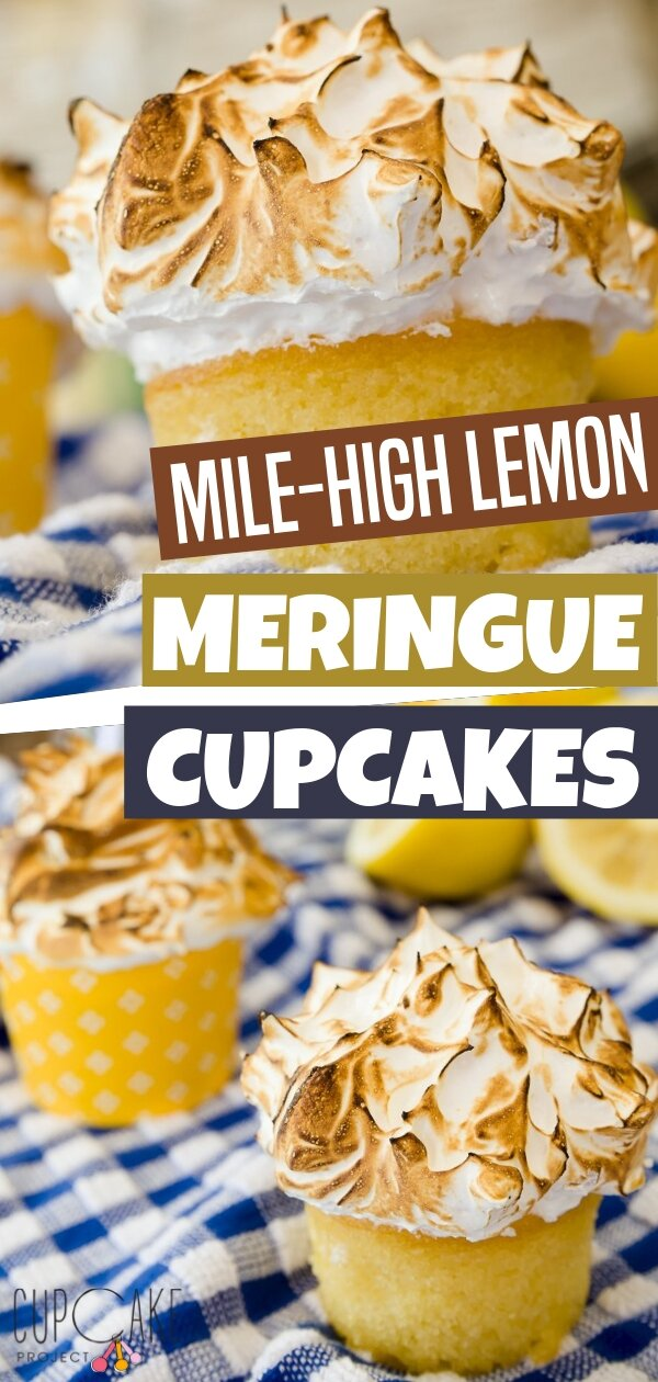 Mile-high lemon meringue cupcakes are sweetly made for a summer get-together. With the looks that are so refreshing, the taste is amazingly delicious too! A perfect combination best served for everyone! Save this pin for later!