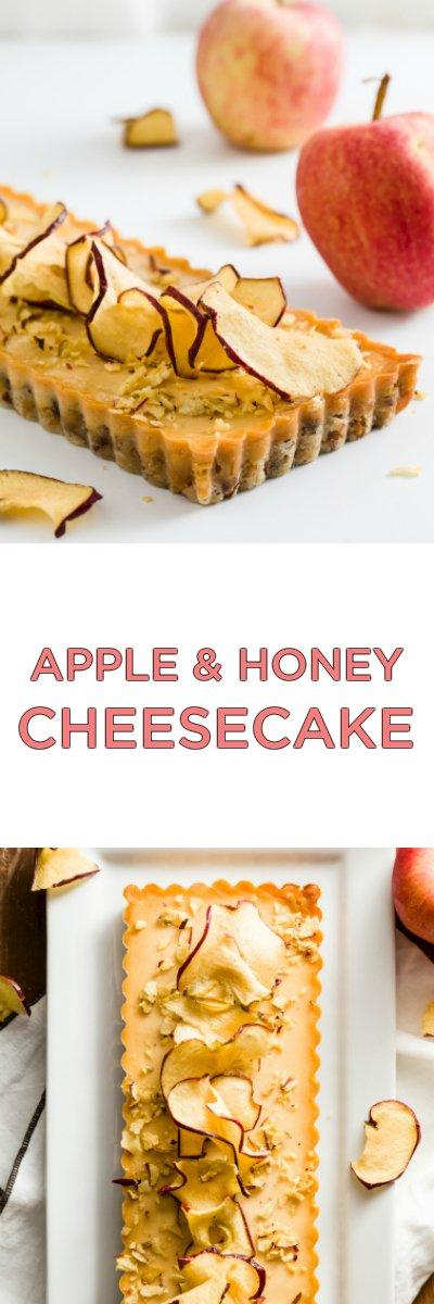 Apple and Honey Cheesecake