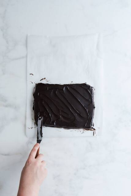 Chocolate butter block