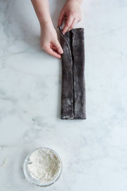 chocolate palmier