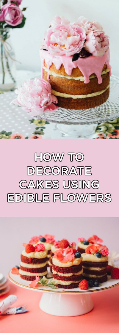How to Decorate with Edible Flowers