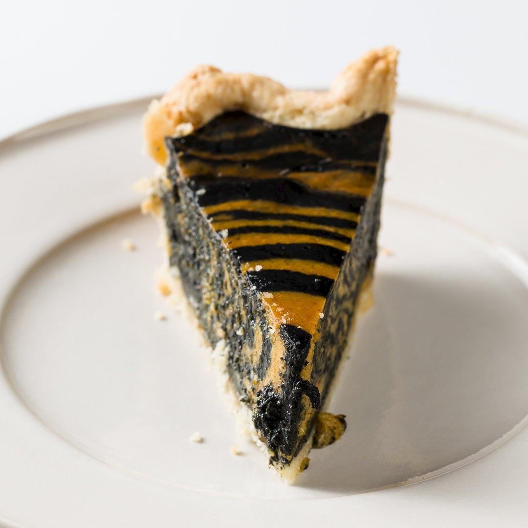 Zebra Pumpkin Pie
