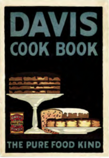 davis cook book booklet