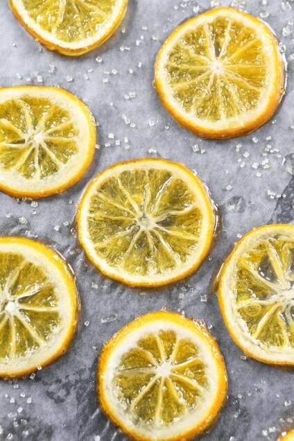 Candied Lemons