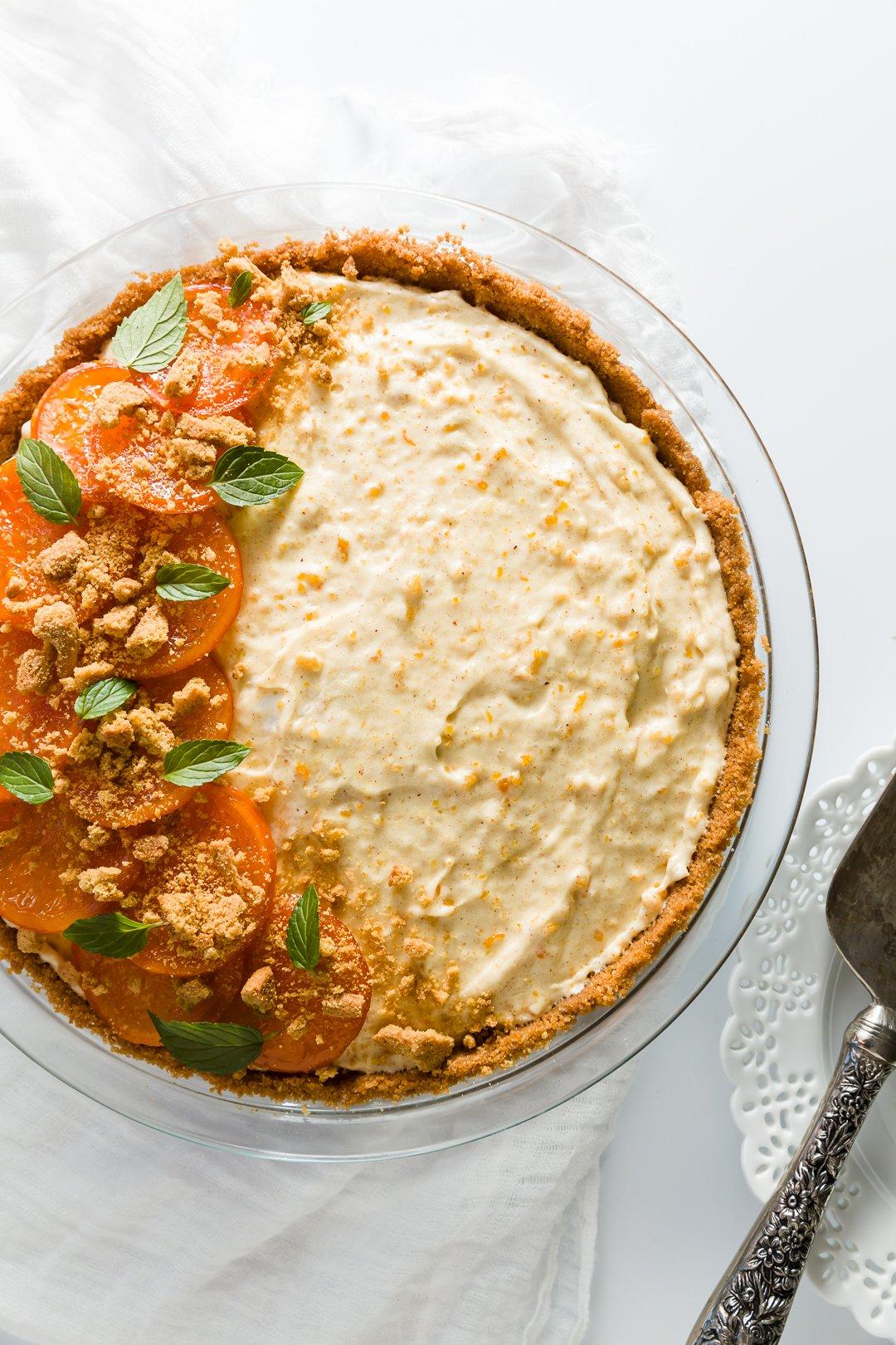 Spiced Orange Chiffon Pie