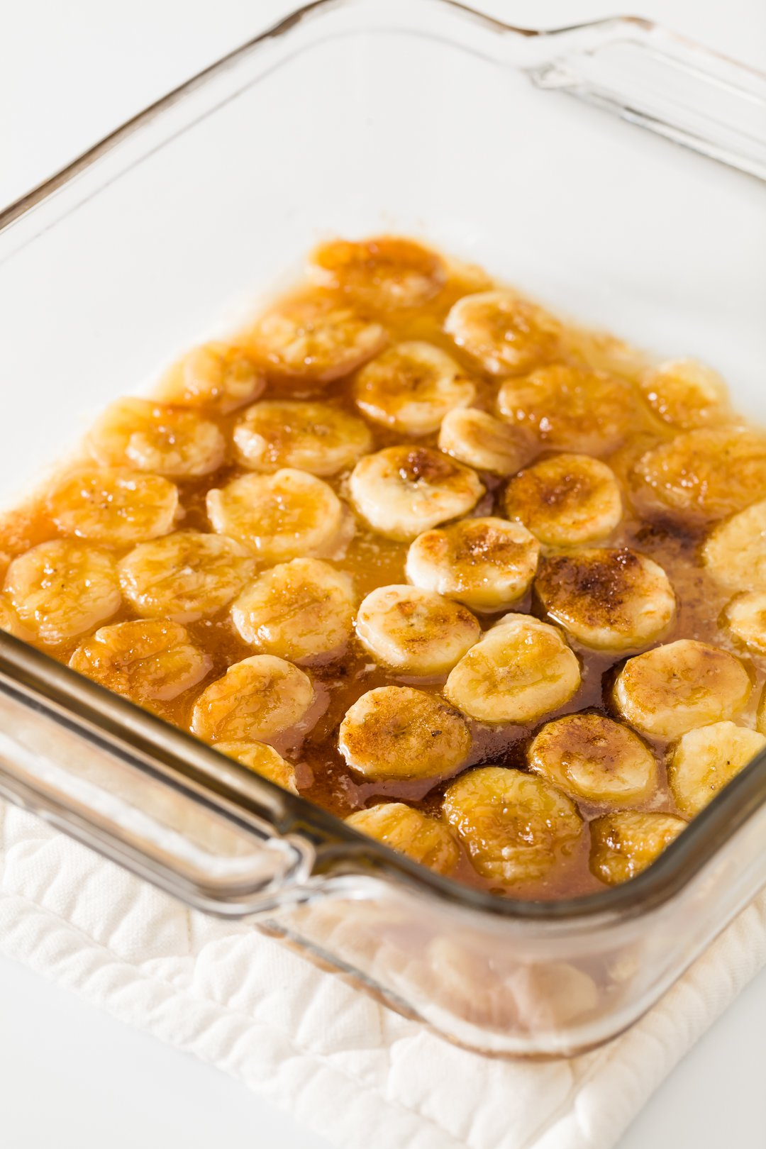 Caramelized Bananas in the Microwave