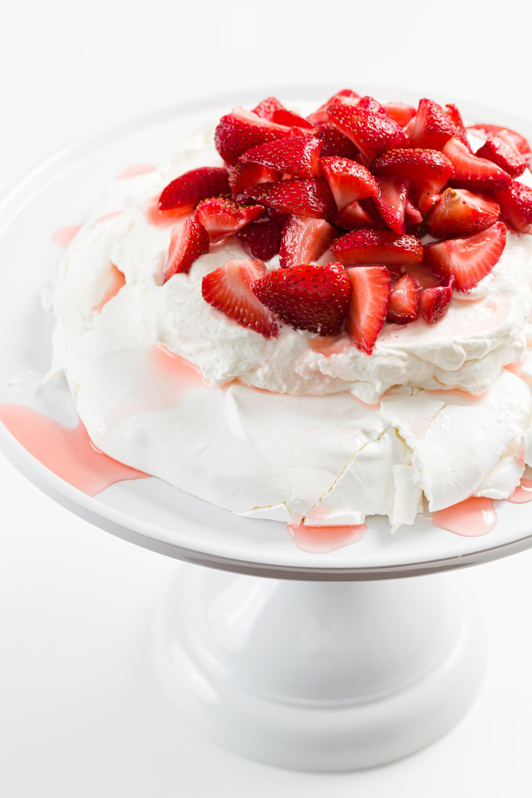 Stunning Strawberry Pavlova
