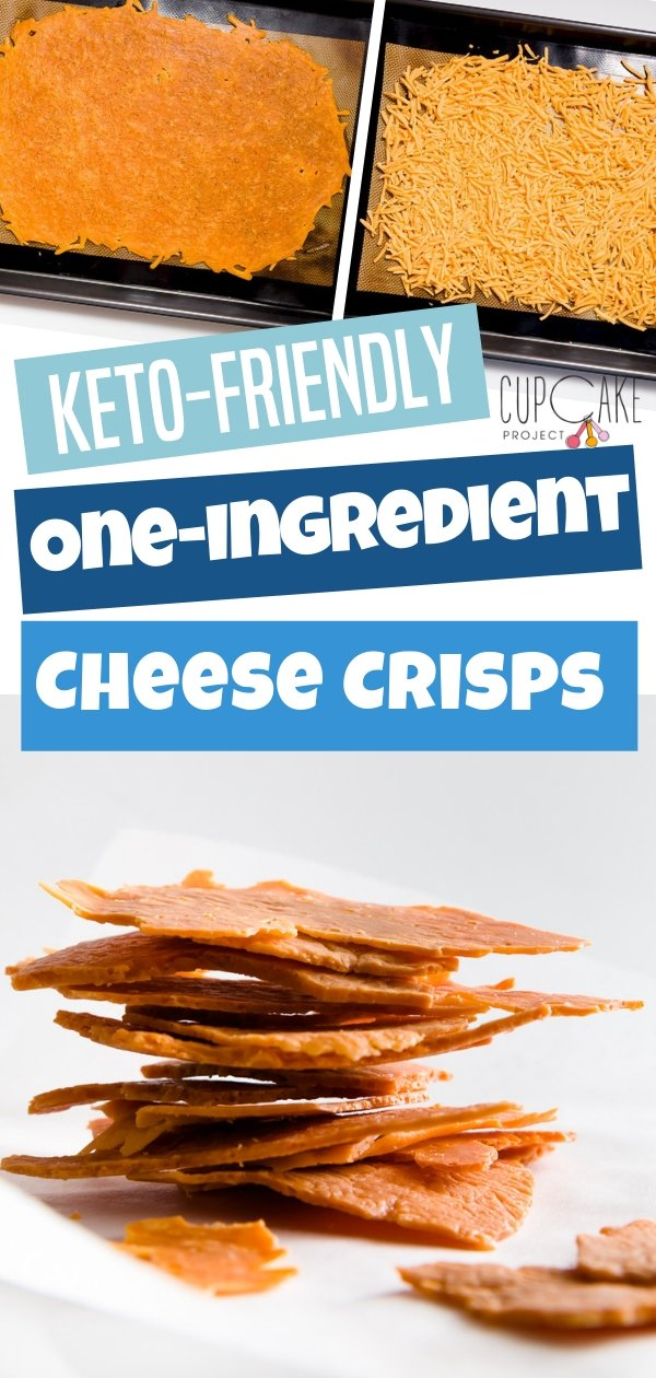 Easy and irresistible snack that only needs one ingredient- cheese! They are super crisp and couldn't be any easier to make. Plus, they are gluten-free, low-carb, and keto-friendly!