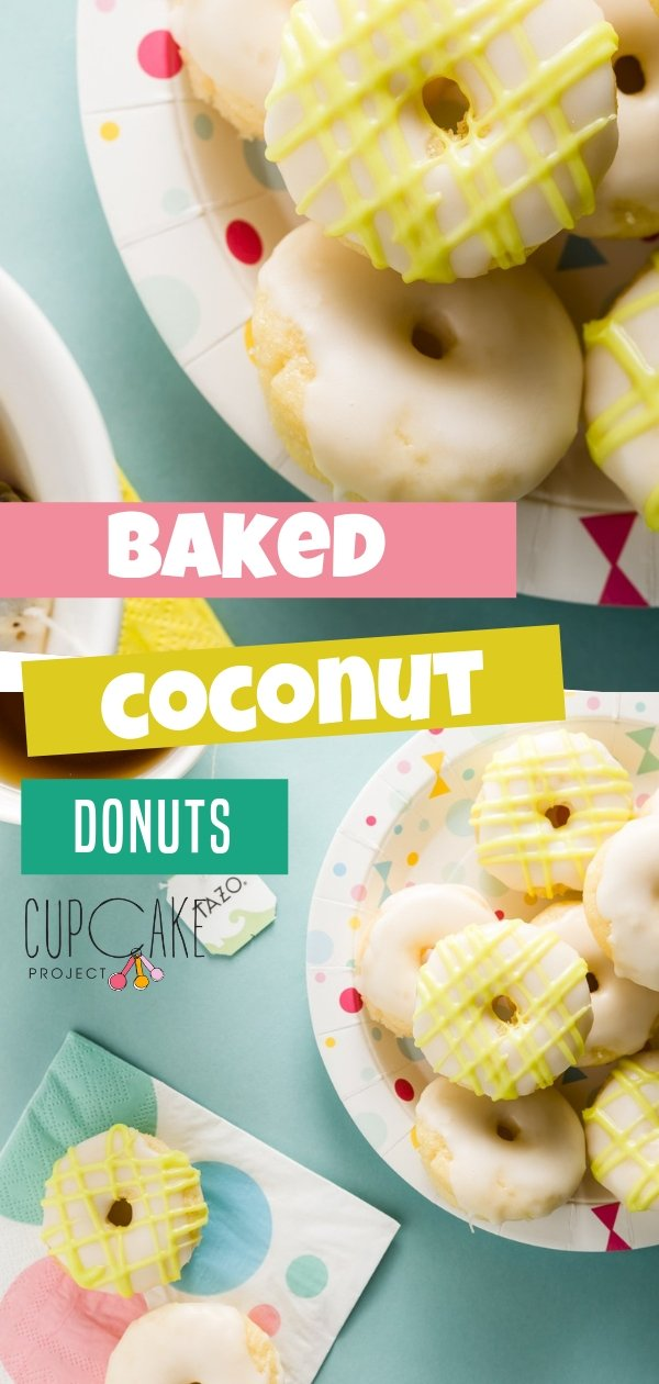Zen is a blend of green tea with lemongrass and spearmint. Use it to flavor this coconut donut glaze to create a vibrant botanical flavor that goes perfectly with them.