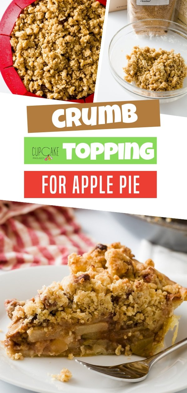 This is the perfect crumb topping you can use in basically any recipe! It comes together easily with rolled oatmeal for an added texture. You can even jazz it up with your favorite spices.